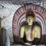 Sri Lanka Tours and Private Driver - Visit - Buddha inside Dambulla cave temples