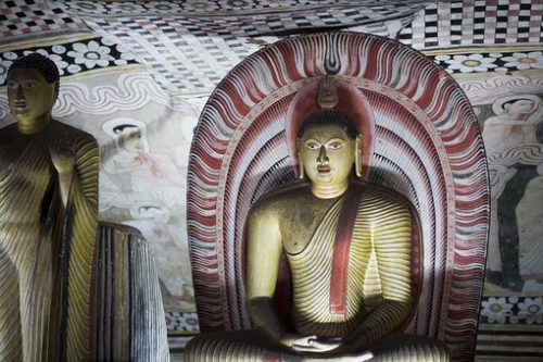 Sri Lanka Tours and Private Driver - Visit - Buddha inside Dambulla cave temples