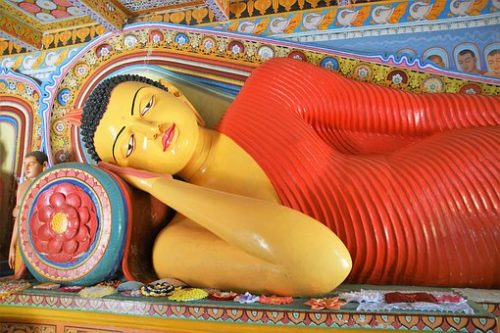 Sri Lanka Tours and Private Driver - Visit - Dambulla cave temple sleeping buddha