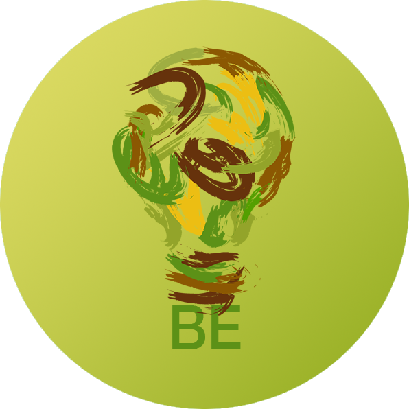 be-business-earth-logo-background